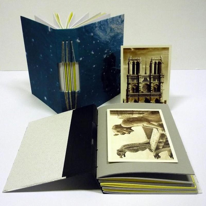 Agendas con tapas de cartón